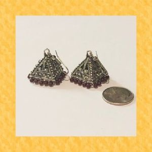 Antique Pyramid Earring